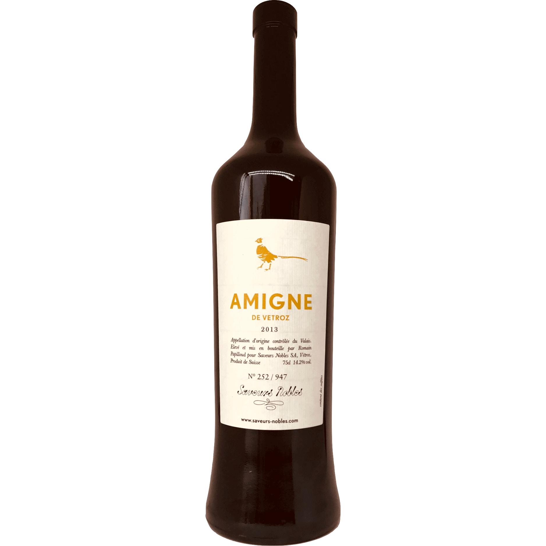 Millésimé Amigne 2014 (75cl)